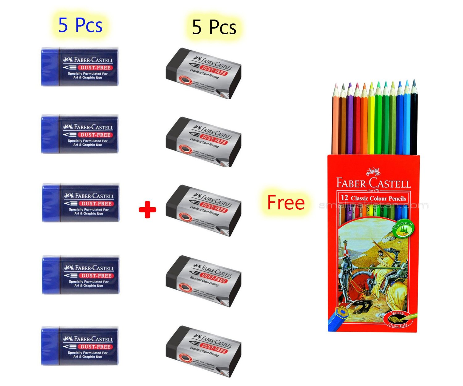 Buy Colored Pencil Faber Castell 48 Color Best Colored Pencil for ...