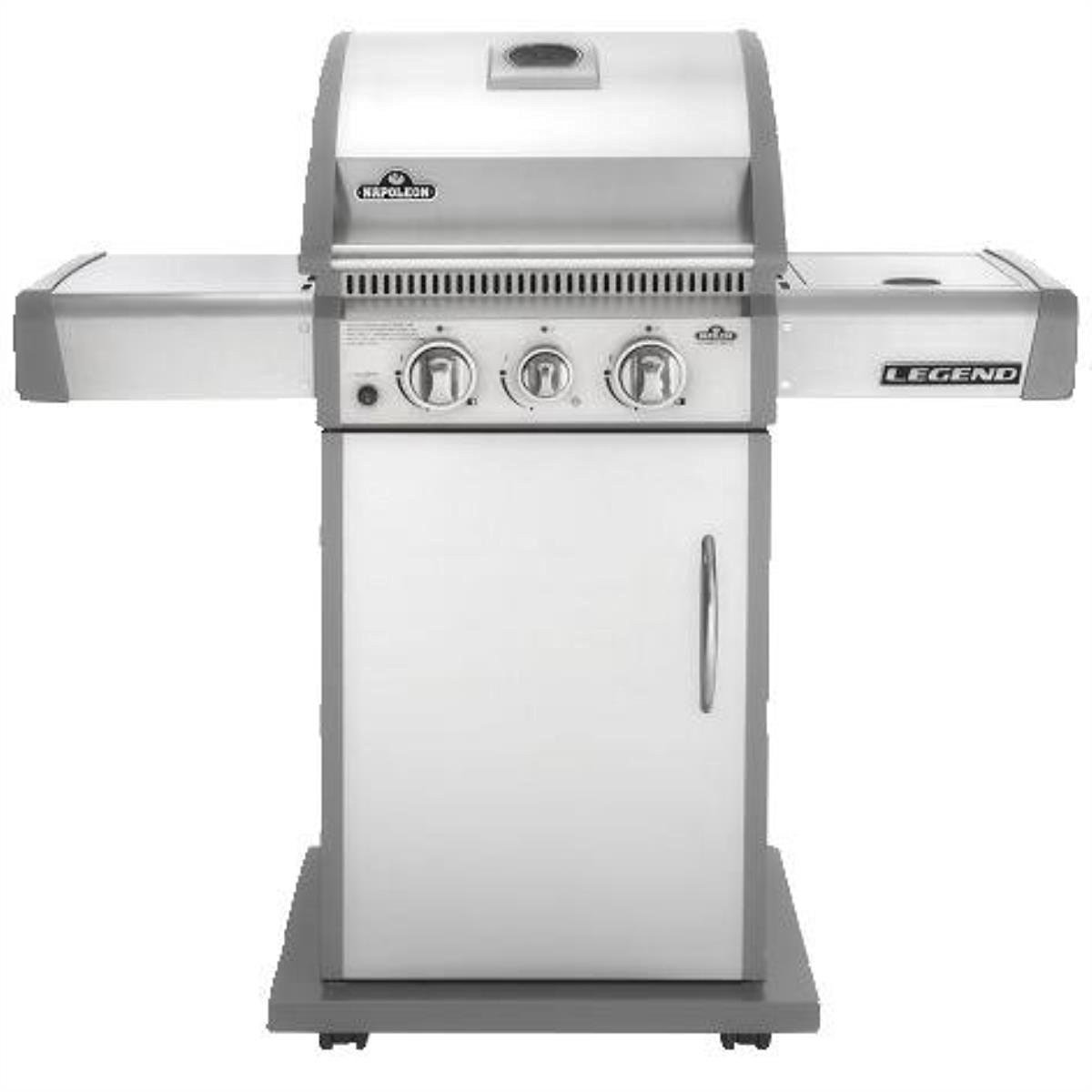 Napoleon/Wolf Steel Usa LA200SBPSS Legend Barbecue Grill, Gas Propane, 2-Burner, 43,000 BTU, 435-Sq. Ft. Cooking Area