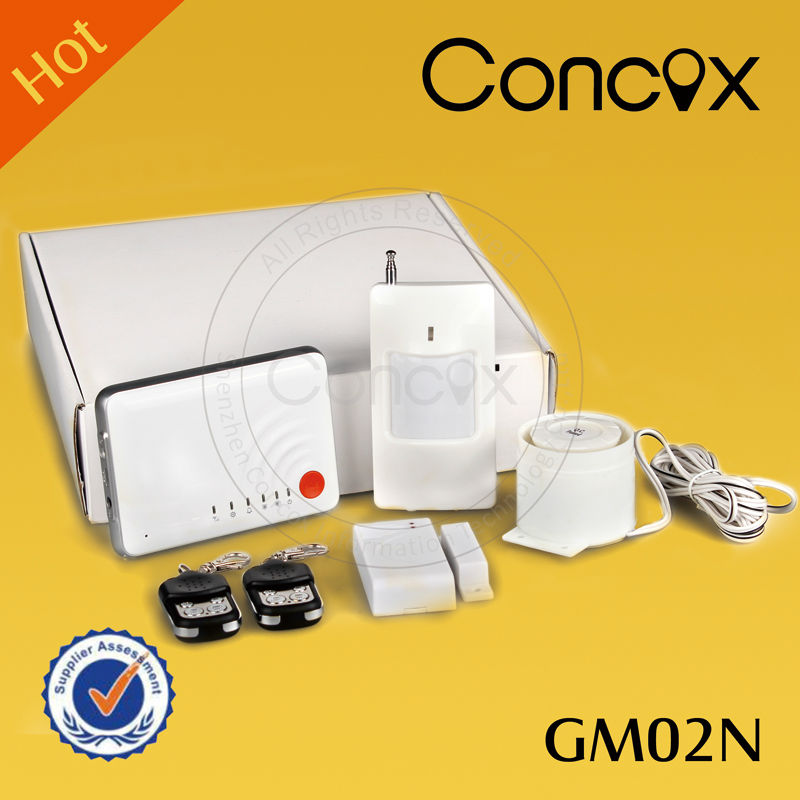 Concox advanced tachnology low cost fire alarm button made in China GM02N home security system with alarm card