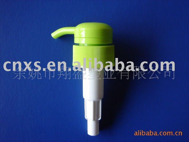 dark green plastic shampoo pump 32/410