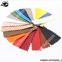 Solid colors Synthetic Leather PU leather with colorful printed patterns for bags shoes sofa furniture