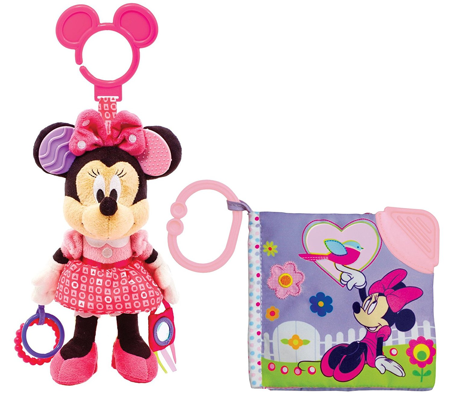 Disney Baby Activity Toy with Teething Book, Minnie Mouse