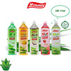 Houssy HACCP FDA BRC healthy natural honey aloe fruit drink with pulp