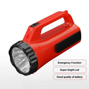 Cheap price rechargeable saeled lead-acid battery plastic led torch