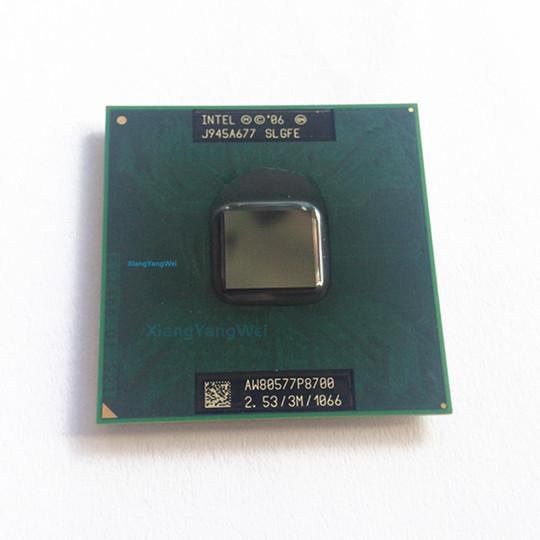 For lntel Core 2 Duo P8700 Dual Core 2.53GHz 3M 1066MHz Socket 478 CPU Processor