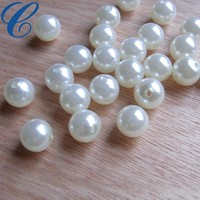 Small Beads 4mm 5mm 6mm 7mm 8mm 9mm 10mm Round Loose Pearls Type Wholesale No Hole Imitation Pearl