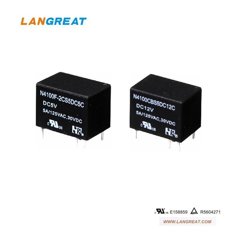 High sensitive and Low coil power consumption communication relay
