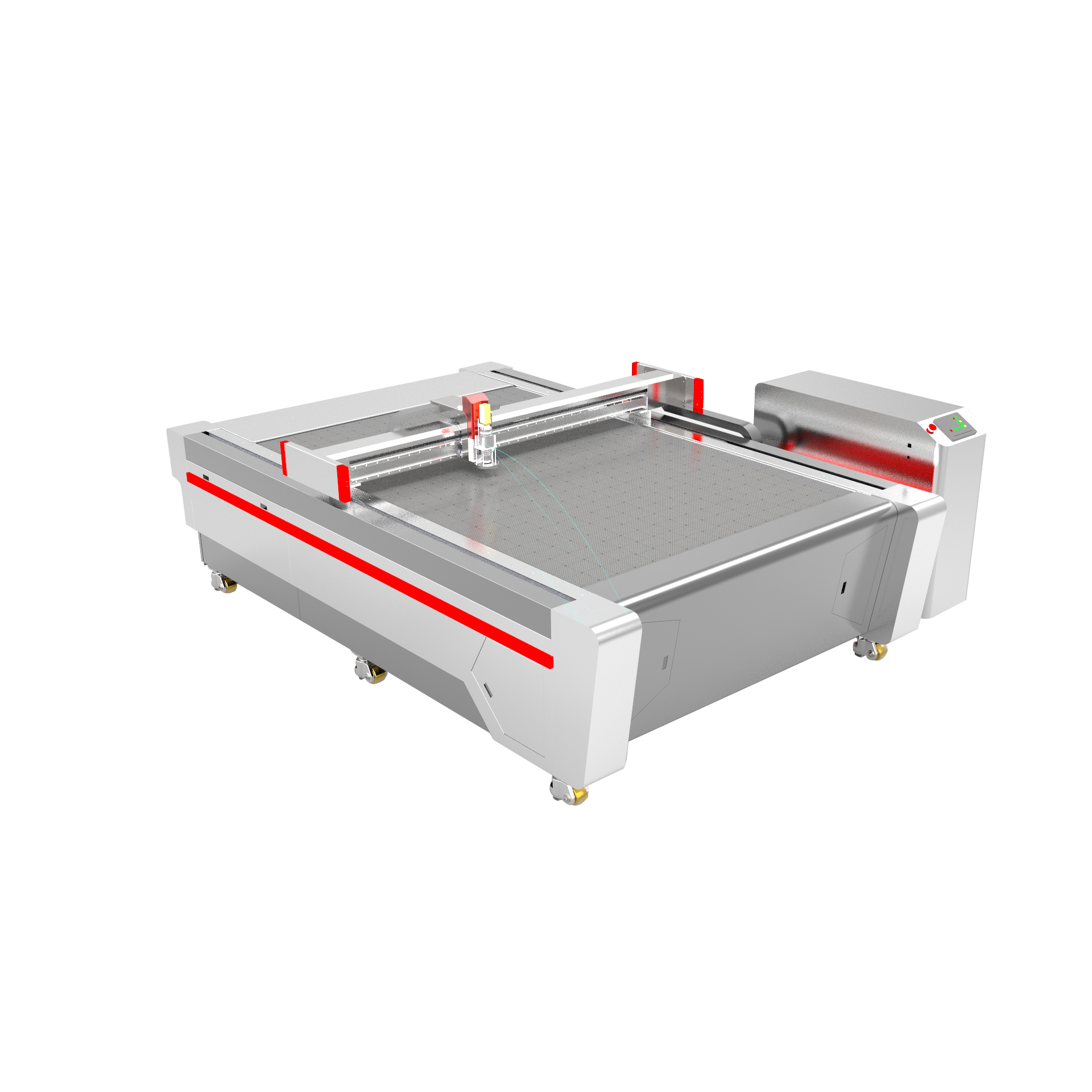 China Hot sale AOL industrial CNC cloth/textile fabric cutter/fiberglass cutting machine
