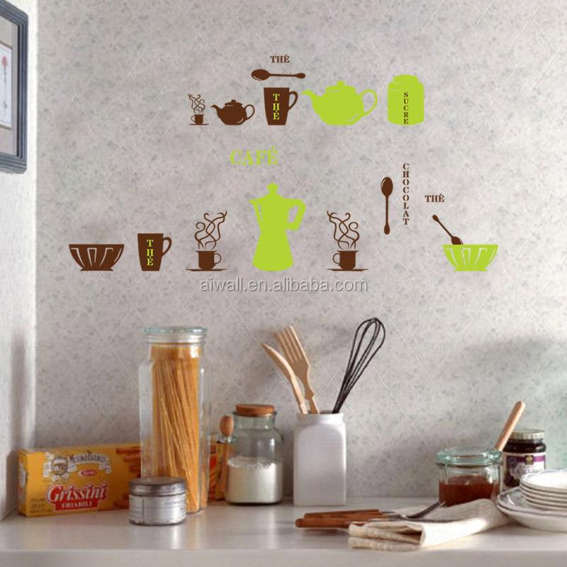 6009 Utensili Da Cucina Adesivi Murali Cucina Adesivi Per Piastrelle A  Parete Per La Decorazione - Buy Wall Stickers/decalcomanie Per La ...