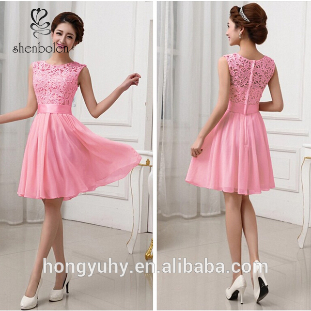 b346b43a097b Wholesale Factory Price Sexy Women's Mini Dress Wedding Bridesmaid Prom  Party cocktail Evening Short Formal Dress