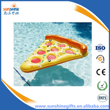 Fancy Pizza mattress inflatable pizza slice pool floats pizza water float for adults