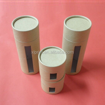 Kraft paper round box cylinder tube buy cylinder tube for Kraft paper craft tubes