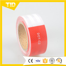 Red/White Dot C2 Reflective Tape Micro Prismatic Type For Roadway Safety