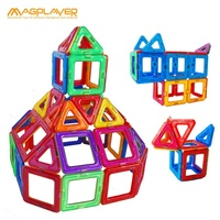 Magplayer DIY Miniature Doll House and Animal with Magnet The Best Magnetic Blocks