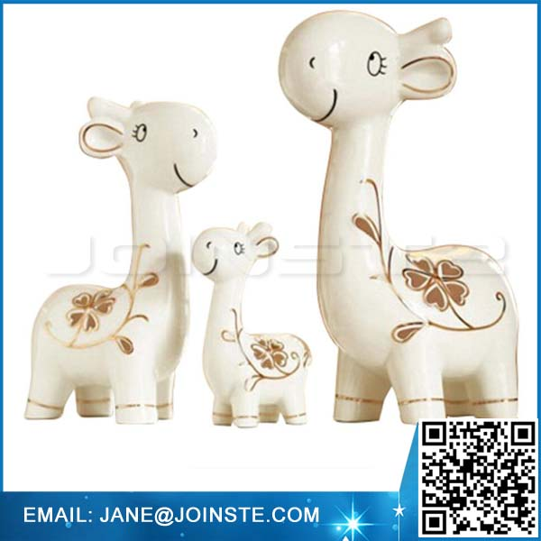 Animal Deer Ornament Porcelain Art creative furnishings Christmas Holiday Decoration