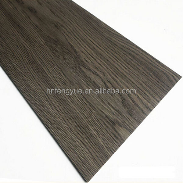 6.0mm thickness wood grain plastic hdf linoleum vinyl flooring sheet