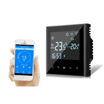 Hysen Wifi Building room HVAC central air conditioner programmable thermostat with LCD display