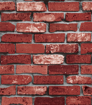 Hot Ing Red Black And Grey Brick Design Wallpaper