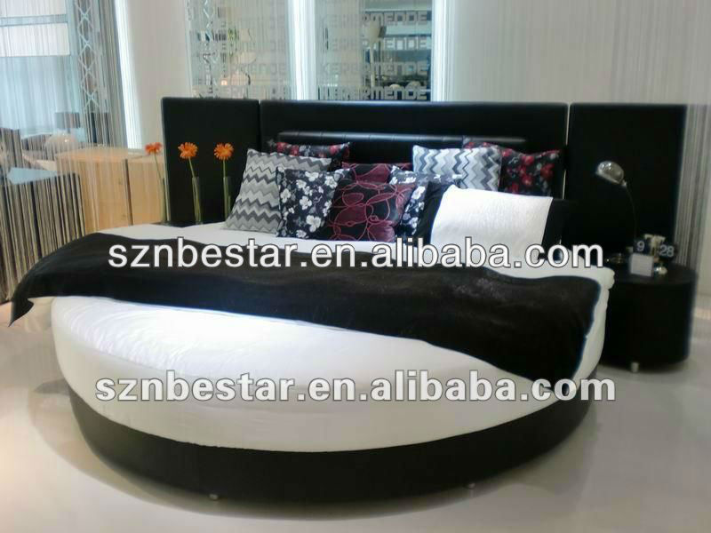 Modern King Size Round Bed Modern King Size Round Bed Suppliers  - Round Beds