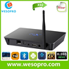 wholesale android smart tv set top box X92 Android 6.0 Smart TV Box 2GB/16GB built in dual wifi 2.4GHz 5.0GHZ