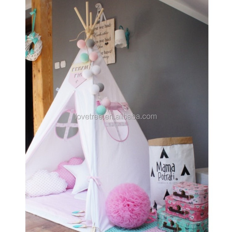 tipi indien tentes enfants enfants tissu tipi pow wow lodge ronde porte tipi enfants jouer. Black Bedroom Furniture Sets. Home Design Ideas