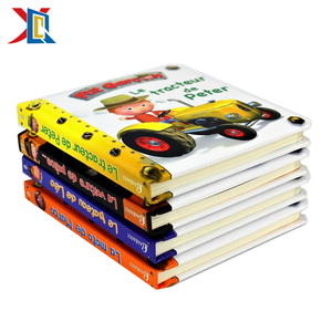 Hardcover Paperboard Book Printing on Demand Children Board Books Printing