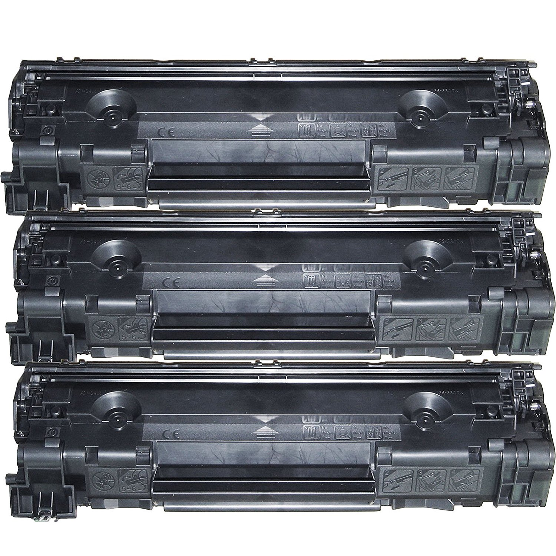 Cheap Laserjet P1102 Toner Find Deals On Line Compatible Cartridge Printer Ce285a 85a Get Quotations 3 Inktoneram Replacement Cartridges For M1212f M1212nf M1213nf M1214nfh