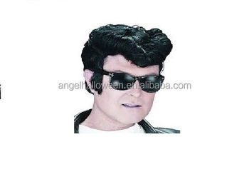 Newly Arrival Halloween Party Christmas Costume Elvis Wigs for men FW4115 a62cbd5285ce
