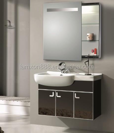 Barato espejo de ba o gabinete con espejo deslizante for Gabinete de almacenamiento de bano barato