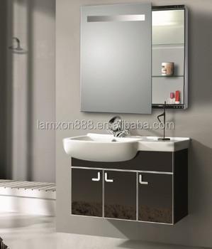 Bathroom Mirror Cabinet With Sliding Door For Modern Hotel