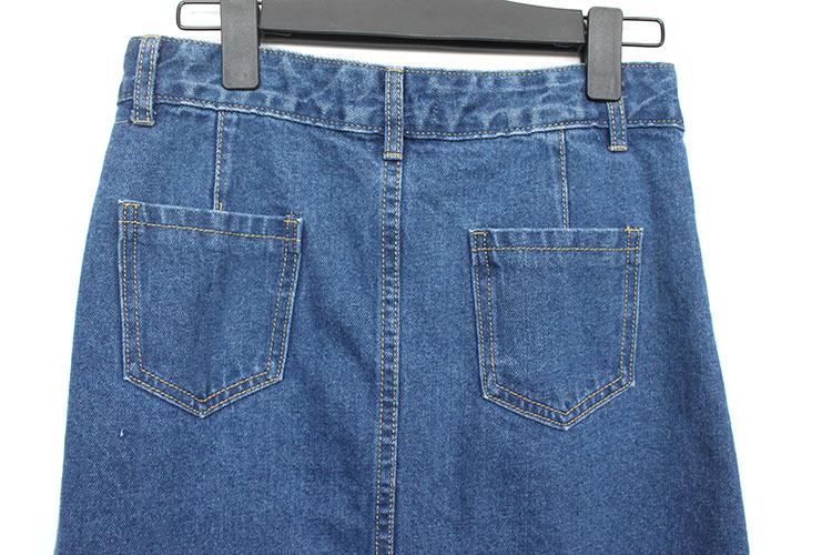 52a7c1551 Catálogo de fabricantes de Larga Falda Jean Azul de alta calidad y ...