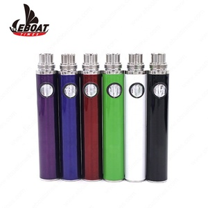 2018 trending products 900mah evod battery Eboat Times 3.8v evod atomizer cbd vaporizer pen with big vapor