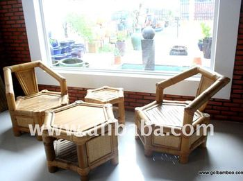 Bamboo Sofa Sets - Bamboo Furniture - Sofa Bed - Corner Sofa - Arm ...