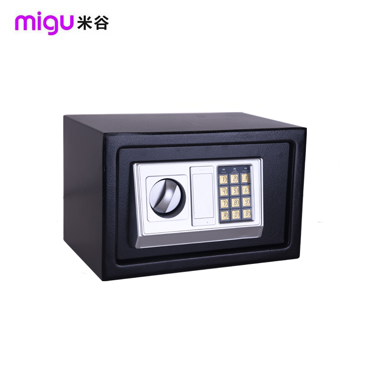unlock wall mounted safe box/mini time lock safe box