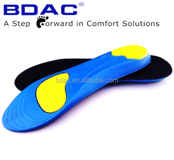 pu foam shock absorption athletic insole cushion
