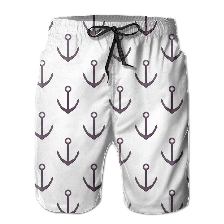 YOUSHO Mens Swim Trunks French Bulldogs Beach Shorts Quick Dry Mesh Lining Board Shorts Swimwear with Pockets