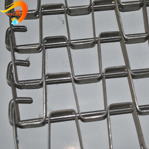 Roasting biscuit wire mesh belt Have a long service life