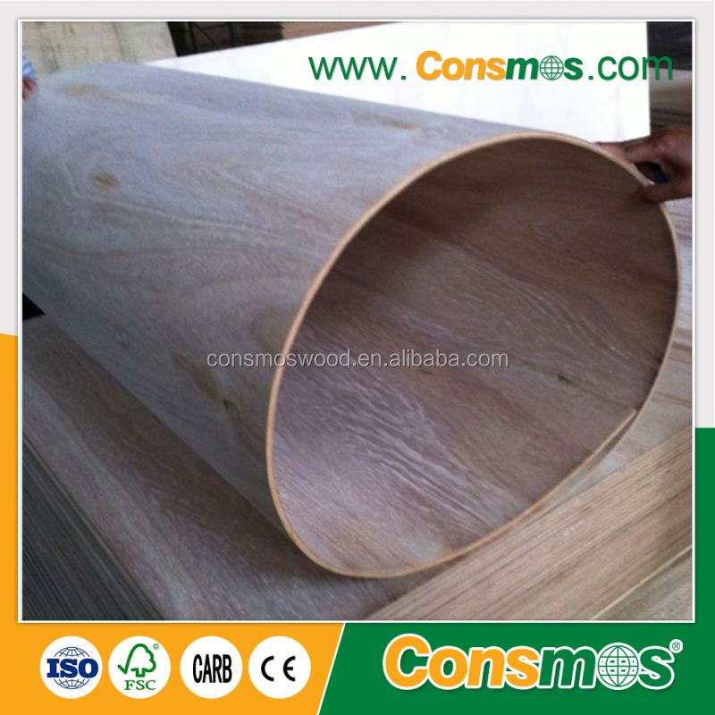 15mm low price Flexible bendable Plywood
