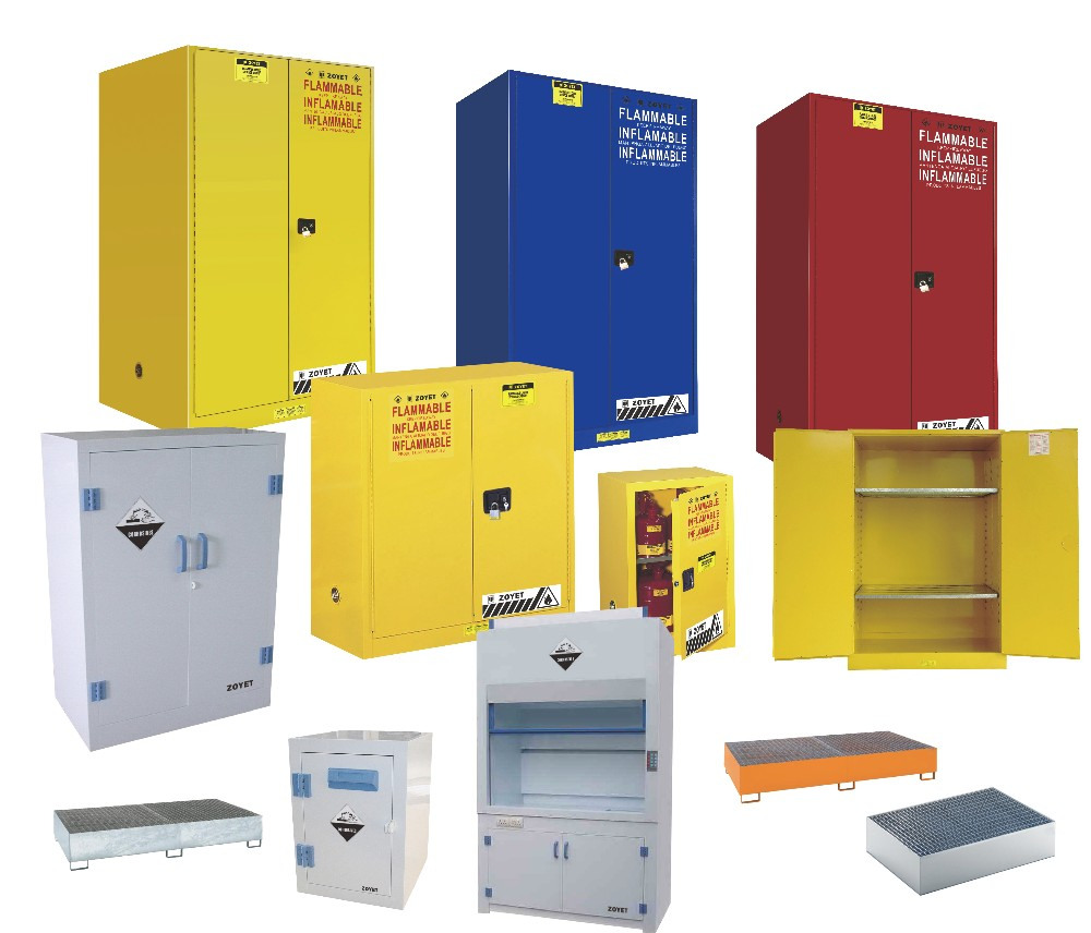 Zoyet Fireproof Laboratory Chemical Storage Safety Cabinet - Fireproof chemical cabinet