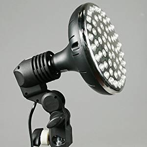 ePhoto Photography Video Studio 58 LED Hair Light Spot Flood Light E27 Base 110V LED light Bulb 95W