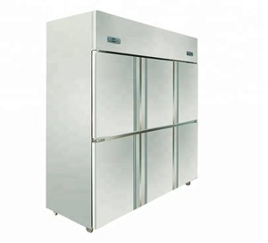 HiC-1300L 6 door commercial refrigerator freezer