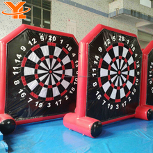 Outdoor Foot Ball Dart Games Magnetic Football Darts Board With Balls