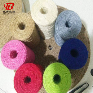 Not easy to fracture natural hemp rope for wholesales