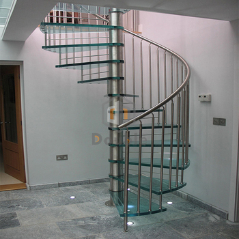 Etonnant Modern Design Stairs Indoor Glass Spiral Staircase Round Stairs   Buy Glass  Staircase,Spiral Staircase,Round Stairs Product On Alibaba.com