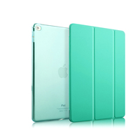 Fashionable Customized smart cover case for ipad pro12.9 tablet with sleep/awake function