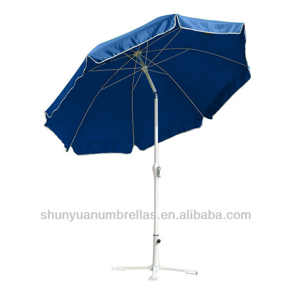 2 2 m manivelle ouvert syst me ext rieur deluxe jardin patio parasol parasol sa base id de. Black Bedroom Furniture Sets. Home Design Ideas