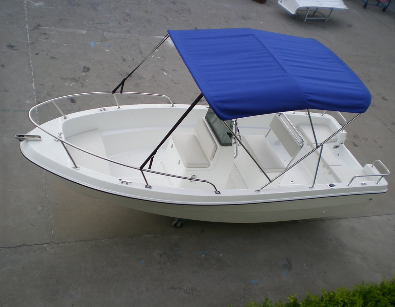 Sanj 15ft Fiberglass High Speed Small Sport Boat Runabout Fishing