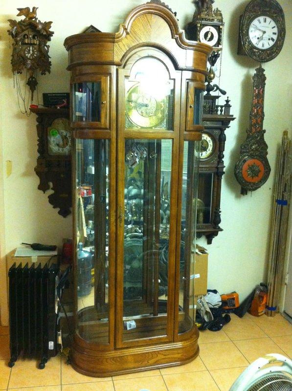 Ridgeway Curio Grandfather Floor Clock - Buy Curio Grandfather Clock  Product on Alibaba com