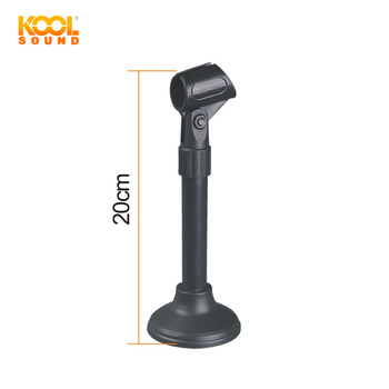 Peachy Ds 53 Professional Desk Microphone Stand Table Mic Stand Plastic Mic Stand View Microphone Stand Koolsound Can Oem Product Details From Interior Design Ideas Clesiryabchikinfo