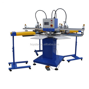 Carousel T shirt Rotary Screen Printing T-shirt Equipment